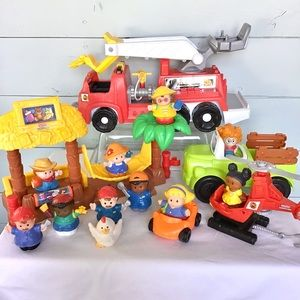 HASBRO | Mixed Lot of 11 Little People & Play Sets